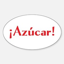 azucar Sticker (Oval)