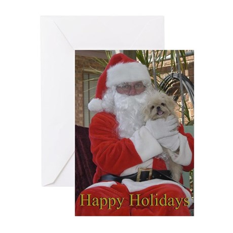 Gracie Christmas Greeting Cards (Pk of 10)