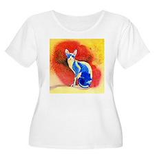 Sphynx Cat Plus Size T-Shirt