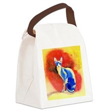 Sphynx Cat Canvas Lunch Bag