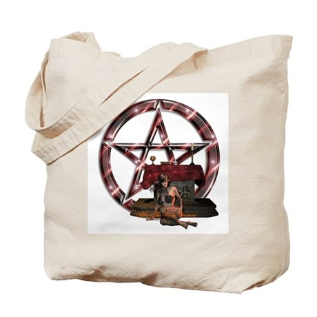Wiccan; Gothic; Fairy; & Elf Tote Bags Tote Bag