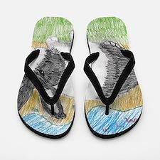 Dutch Bunny Flip Flops