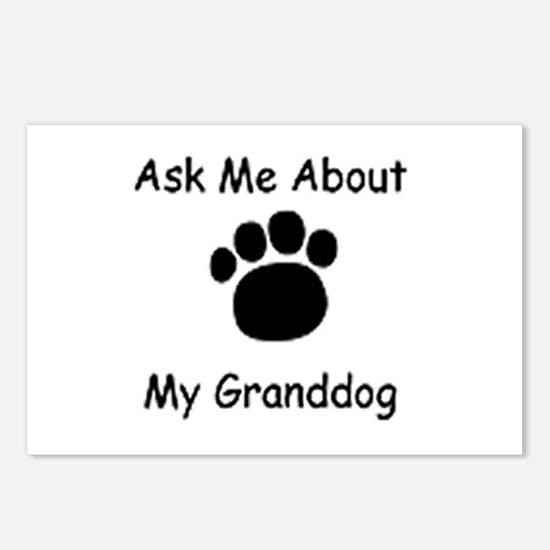 Grand Dog Postcards (Package of 8)