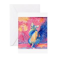 Sphynx Cat 2 Greeting Card