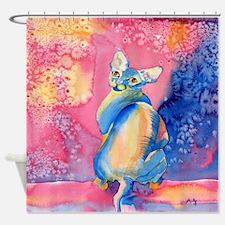 Sphynx Cat 2 Shower Curtain