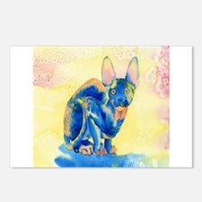 Sphynx Cat 1 Postcards (Package of 8)