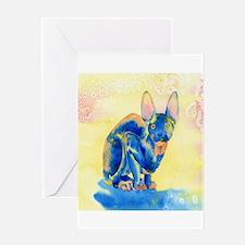 Sphynx Cat 1 Greeting Card