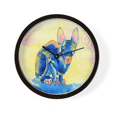 Sphynx Cat 1 Wall Clock