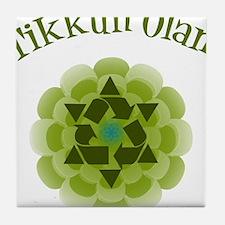 Tikkun Olam Recycle Tile Coaster