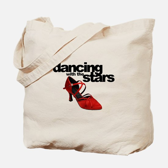 dancing with the stars - red shoe Tote Bag