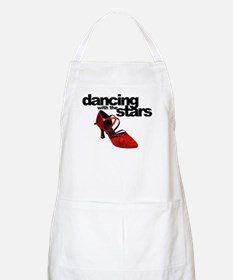 dancing with the stars - red shoe Apron