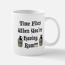 Time Flies When You're Having Rum!!! Mug