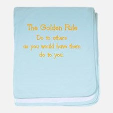 golden rule baby blanket
