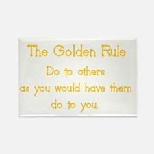 golden rule Rectangle Magnet
