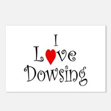 I love Dowsing - Postcards (Package of 8)
