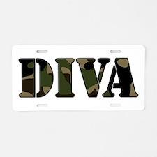 DIVA Aluminum License Plate