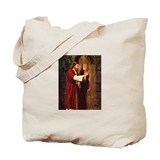 Christ at your hearts door Tote Bag