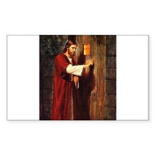 Christ at your hearts door Decal