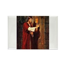 Christ at your hearts door Rectangle Magnet