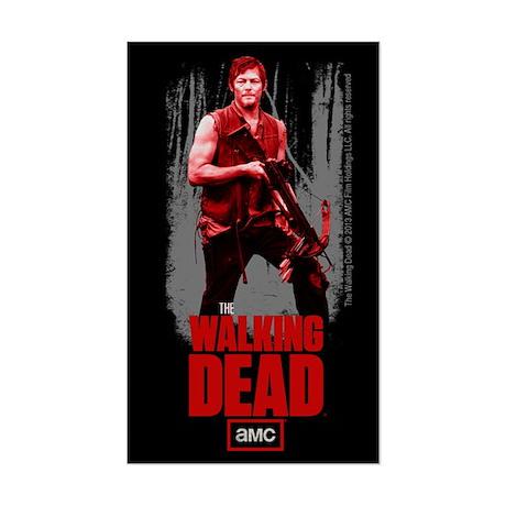 Daryl Dixon Crossbow Sticker
