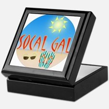 Socal Gal Keepsake Box