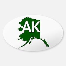 AK Sticker (Oval)