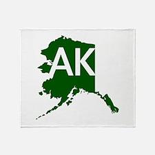 AK Throw Blanket