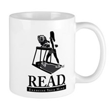 Treadmill Reading Mug