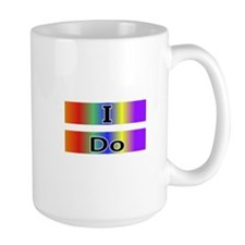 I Do -Rainbow Equality for Marriage Mug