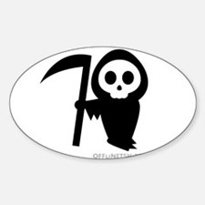 Cute Grim Reaper Decal