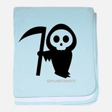 Cute Grim Reaper baby blanket