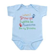 Awesome Like My Grandma Infant Bodysuit