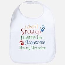 Awesome Like My Grandma Bib