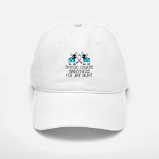 Thyroid Cancer Support Aunt Baseball Baseball Cap