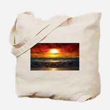 Ocean Heat Tote Bag