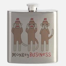 Monkey Business Flask