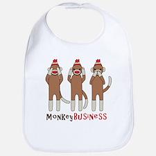 Monkey Business Bib