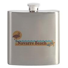 Navarre Beach - Beach Design. Flask