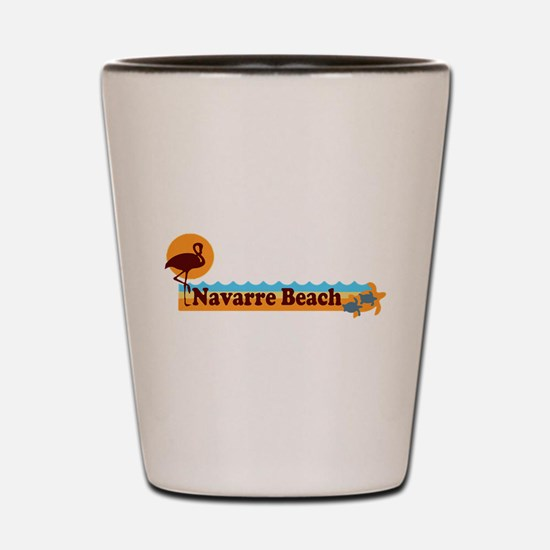 Navarre Beach - Beach Design. Shot Glass