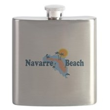 Navarre Beach - Map Design. Flask