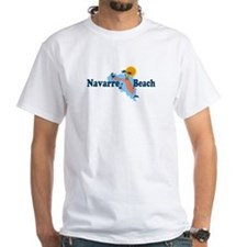 Navarre Beach - Map Design. Shirt