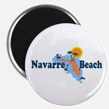 Navarre Beach - Map Design. Magnet