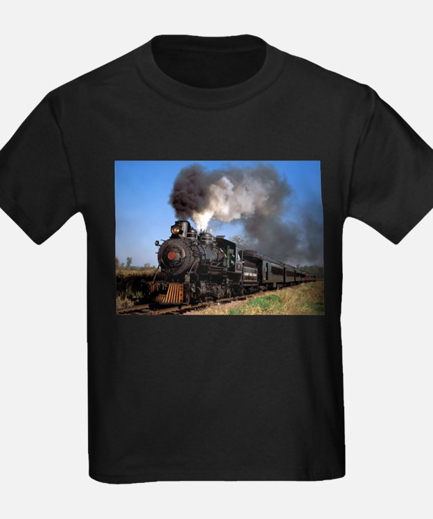 Antique steam engine train T-Shirt