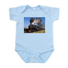 Antique steam engine train Body Suit