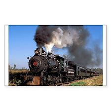 Antique steam engine train Decal