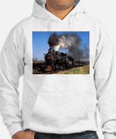 Antique steam engine train Hoodie