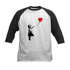 Banksy - Little Girl with Ballon Baseball Jersey