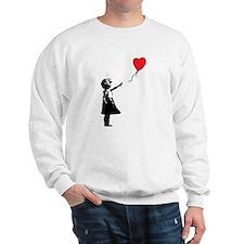 Banksy - Little Girl with Ballon Sweatshirt