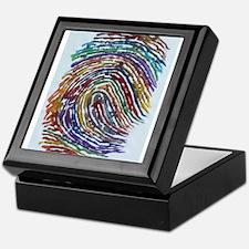 Fingerprint Keepsake Box