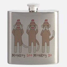 Monkey See Monkey Do Flask